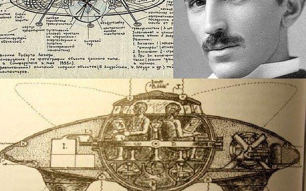 Nikola Tesla'nın Az Bilinen Uçan Daire Projesi!