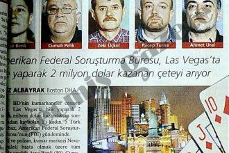 Las Vegas Şehrinde Büyük Vurgun Yapan 5 Türk!