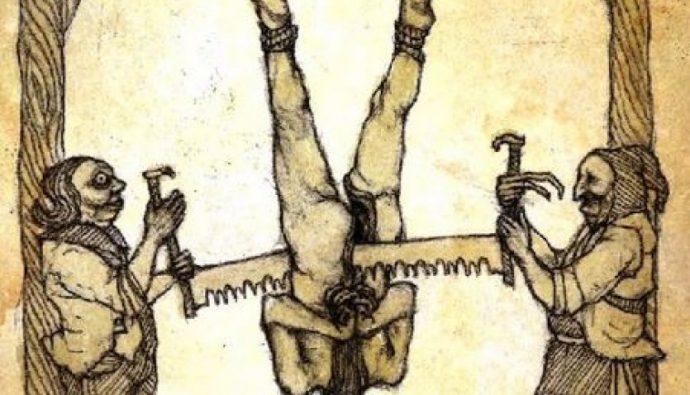 Eski Zamanlarda Uygulanan En Vahşi İdam Yöntemleri!
