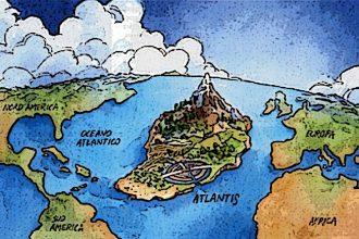 Bazıları Efsane Bazıları Gerçek 4 Kayıp Kıta!