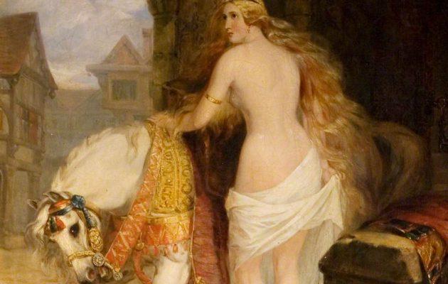 Lady Godiva: Birçok Sanatçıya İlham Olan Hikaye!