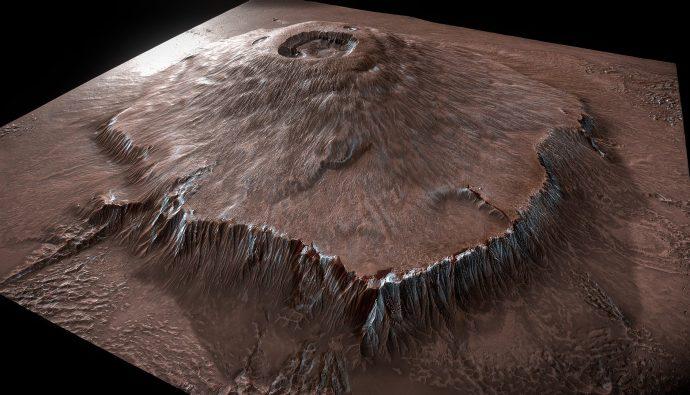 Olympus Dağı: Güneş Sistemindeki En Büyük Dağ!