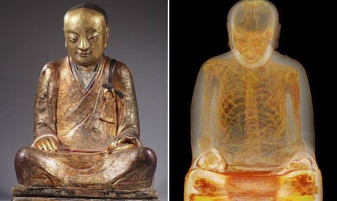 Buda Heykelinin İçindeki Keşiş ve Sokushinbutsu Tekniği!