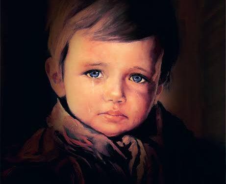Çiko Olarak Tanıdığımız Ağlayan Çocuk Tablosu Lanetli mi?