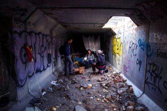 Las Vegas Tünellerinde Yaşayan Yer Altı İnsanları!