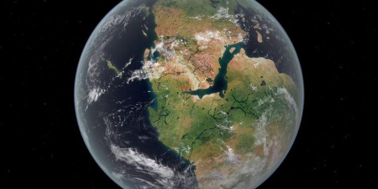 175 Milyon Yıl Önce Parçalanan Süper Kıta Pangea!