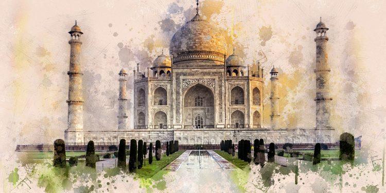 Aşkın ve Kudretin Sembolü Taj Mahal!