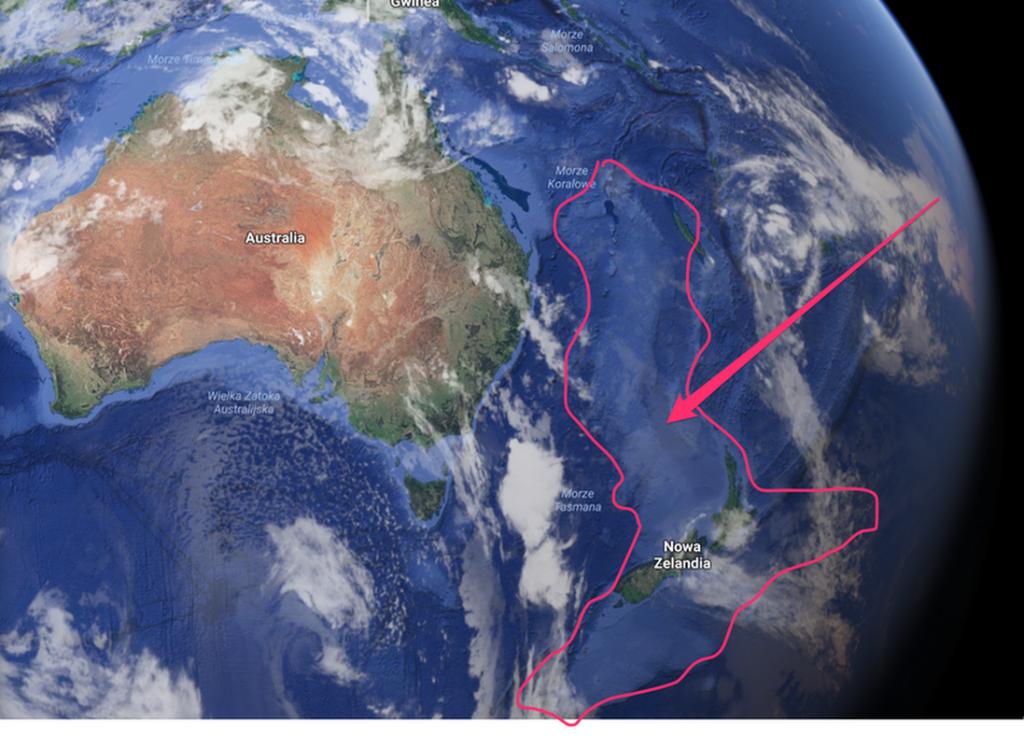 Zelandiya kıtası nasıl battı?